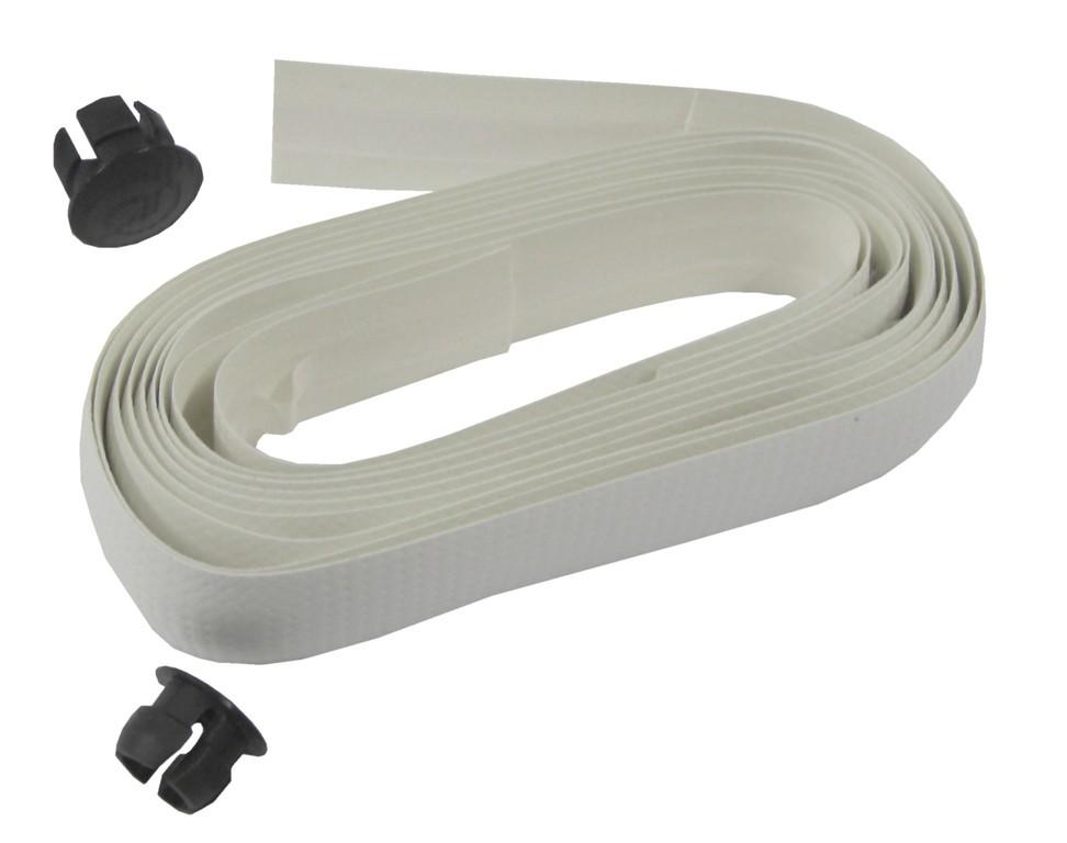 Set nastro manubrio imbottito carbonio bianco c.asp.carbonio