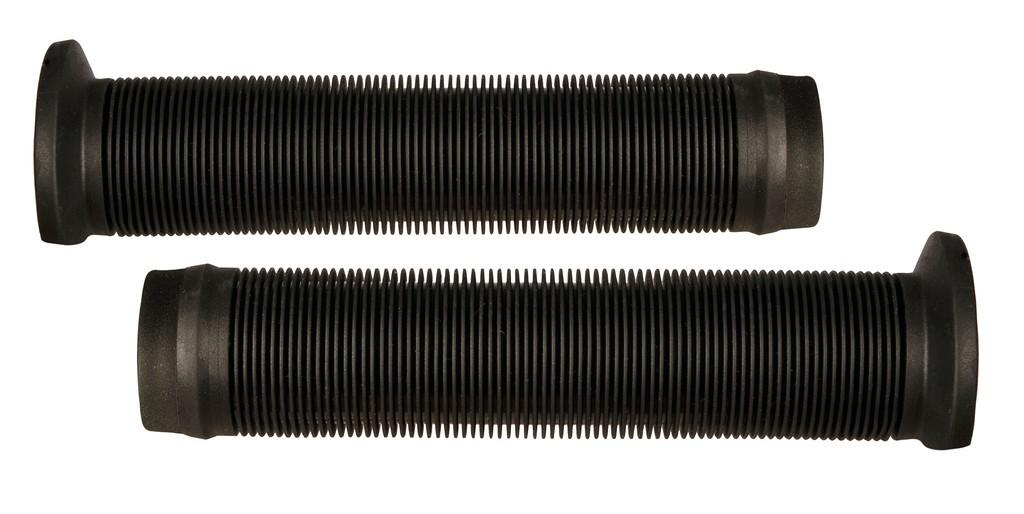 Manopole Herrmans BMX Ink HalfFlange 140mm, Ø 22mm, nero, paio