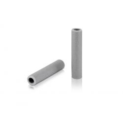 Manopole XLC silicone GR-S31 130mm, grigio, 100% silicone