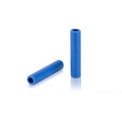 Manopole XLC silicone GR-S31 130mm, blu scuro, 100% silicone