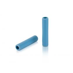 Manopole XLC silicone GR-S31 130mm, cyan, 100% silicone