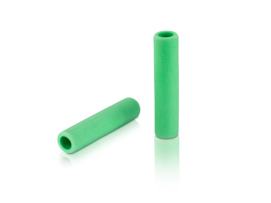 Manopole XLC silicone GR-S31 130mm, lime, 100% silicone