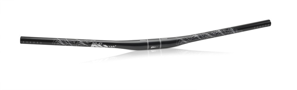 XLC All MTB Topflat-Bar HB-M18 760mm, Ø 31,8mm 10mm nero/lucido, 12°