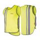 Gilet di sicurezza Wowow per adulti giallo con strisce riflet.e velcro T. XL