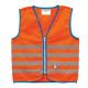 Gilet di sicurezza Wowow Fun Jacket per bambini arancio con fasce riflTg.S