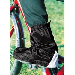 Copriscarpe bici Hock Gamas nero Tg. 39-41,5 lunghezza alla caviglia
