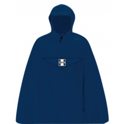Poncho antipioggia Hock Rain Light blu Tg.XXL
