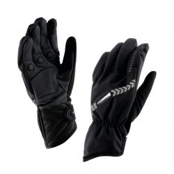 Guanti SealSkinz Halo All Weather Cycle nero T. S (7-8)