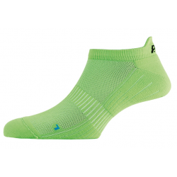 Calze P.A.C. Active Footie Short uomo neon verde Tg.40-43