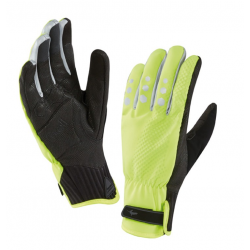 Guanti SealSkinz AllWeather Cycle XP Nero/giallo, taglia S (7-8)