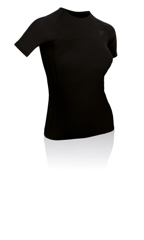 T-Shirt F-Lite da donna Ultralight 70 nero T.L (42-44)