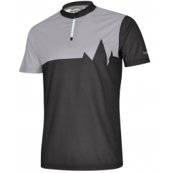 Maglietta Bergfieber 601 nero/grigio T.L