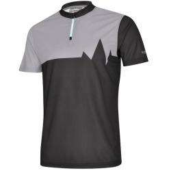 Maglietta Bergfieber 601 nero/grigio T.M