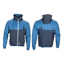 Felpa Bergfieber FLÜELA blu/blu T. M