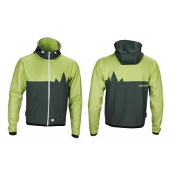Felpa Bergfieber FLÜELA verde/verde T. S