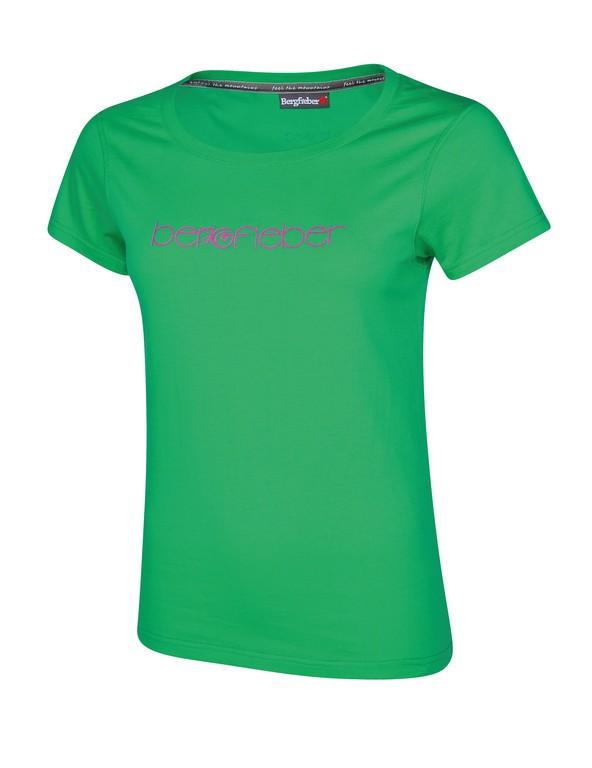 T-Shirt Bergfieber LOGO Da verde T.S