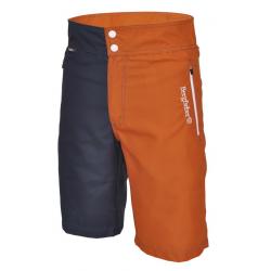 Pantaloni Multisport Bergfieber TRAIL blu scuro/ruggine T.L