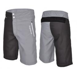 Pantaloni Multisport Bergfieber TRAIL nero/grigio T.S