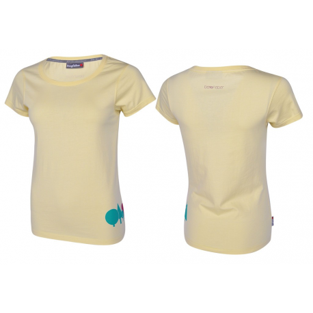 T-Shirt Bergfieber WÄLDELE crema T.M