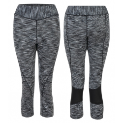 Pantaloni donna Dare2b Canny Capri grey space dye T. XXL / 44