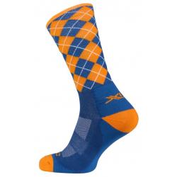 XLC All MTN calze CS-L02 Blu, arancioni, taglia 46-48