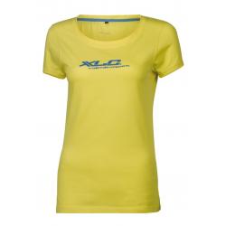 T-Shirt XLC donna JE-C14 giallo Tg. S