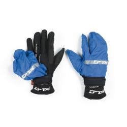XLC guanto invernale CG-L10 nero/blu Tg. M