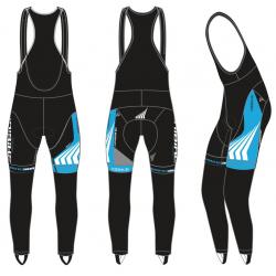 Salopette Haibike lunga - donna blu/bianco/nero/grigio - Tg. XL