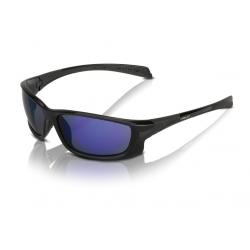 XLC occhiali da sole Nassau SG-C11 montatura nera, lenti blu