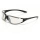 Occhiali sole XLC 'La Gomera' Montatura nero lucido lenti trasparente