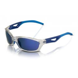 XLC occhiali da sole Saint-Denis SG-C14 montatura grigia, lenti blu a specchio