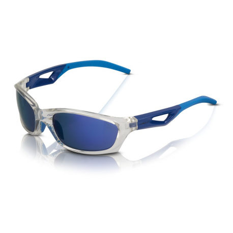 Xlc occhiali da sole saint denis sg c14 montatura grigia - Occhiali specchio blu ...