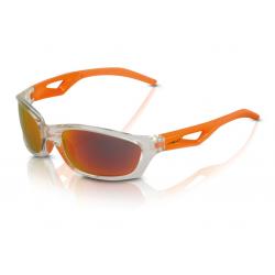 XLC occhiali da sole Saint-Denise SG-C14 mont. grigia, lenti arancioni a specchio