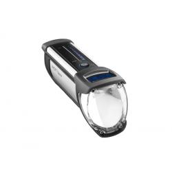 Fanale LED a batteria b&m Ixon Space montaggio al manubrio 150 Lux, con alimentatore