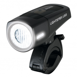 Luce anteriore a b Batteria LED Lightster USB SIGMA 25 Lux nero