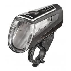 Faro a batteria LED Trelock I-go LS 560 Control nero con supporto