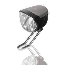 Faro XLC LED E-Bike ready 70 Lux con interruttore luce di posizione Senso