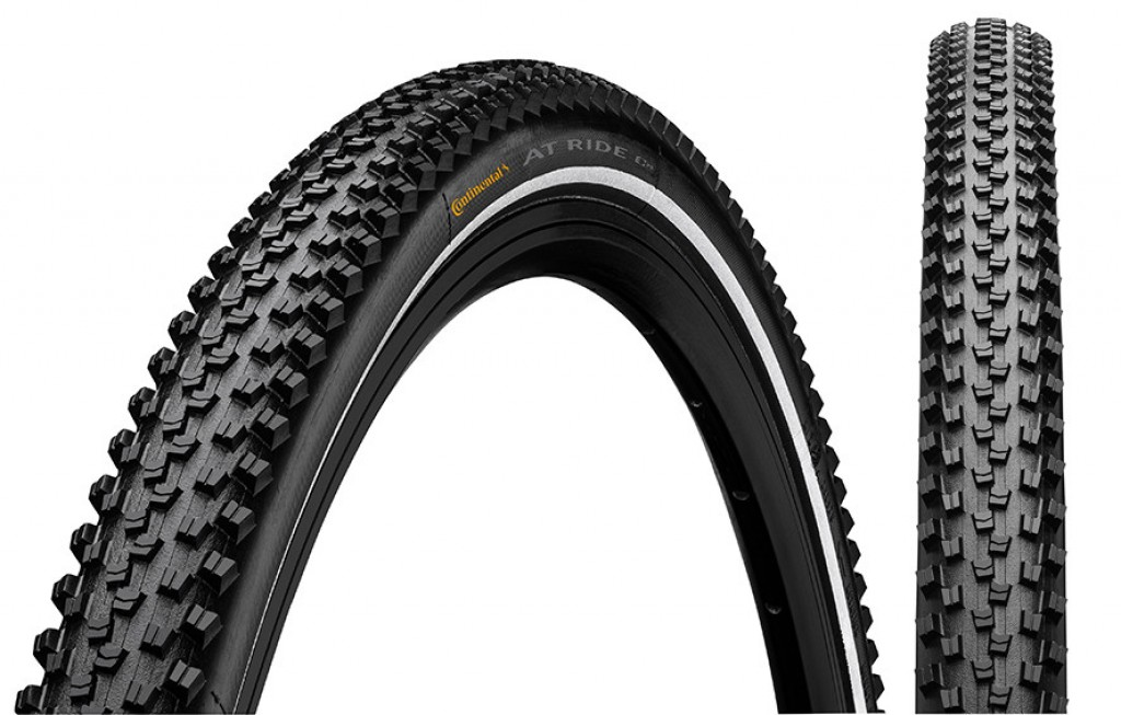 """Copertone Conti AT Ride 28x1.60"""" 42-622 nero riflettente"""