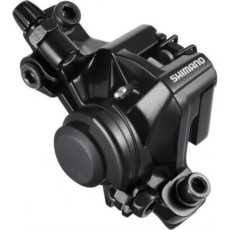 Pinza freno a disco Shimano BR-M 375 Ruota anteriore o posteriore, meccanico, nero, senza disco