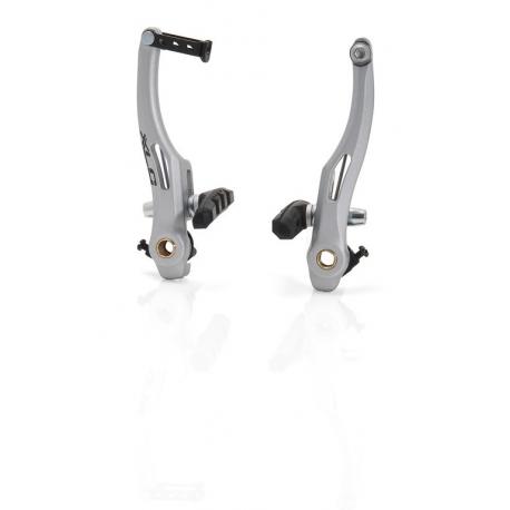 XLC V-Brake BR-V03 Set in Alu silver, ruota anteriore o posteriore