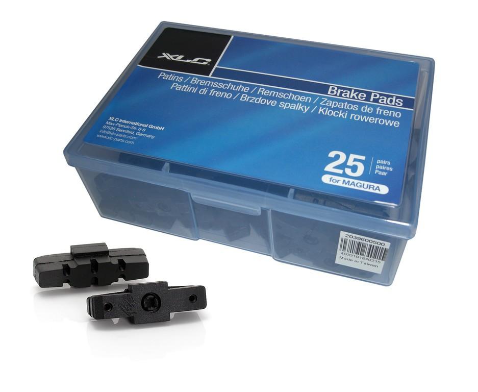 XLC pattini freno per Magura Confezione OEM,25 paia, 50mm, PV per set