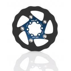 XLC disco freno BR-X76 Ø 140mm nero/blu