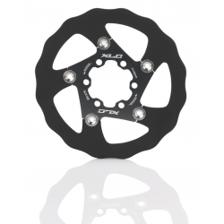 XLC disco freno BR-X76 Ø 140mm nero/titanio