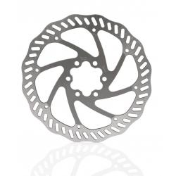 XLC disco freno BR-X78 Ø 160mm argento/titanio