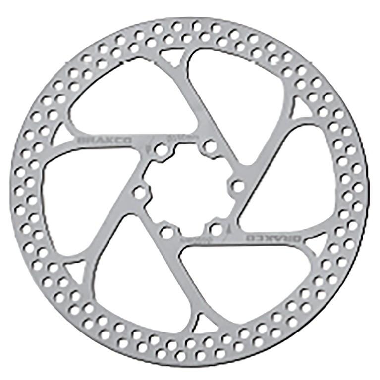 XLC disco freno BR-X79 Ø 180mm argento