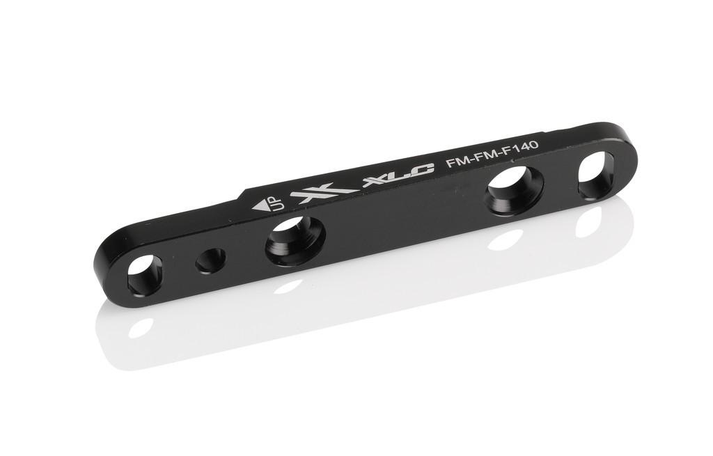 XLC adattatore Flatmount per freno Flatmount FM Ruota anteriore Ø140 su Ø140/160mm
