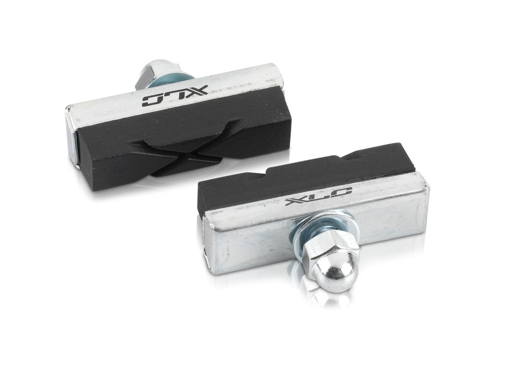 Pattini freno XLC Universal BS-C04 ,Set da 4 pezzi ,40mm, nero