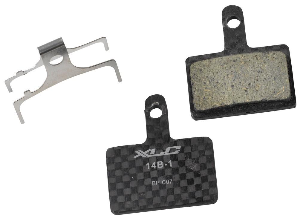 XLC Pro pastiglie freni a disco BP-C07 Tektro Auriga Comp/Pro, Shimano meccanici