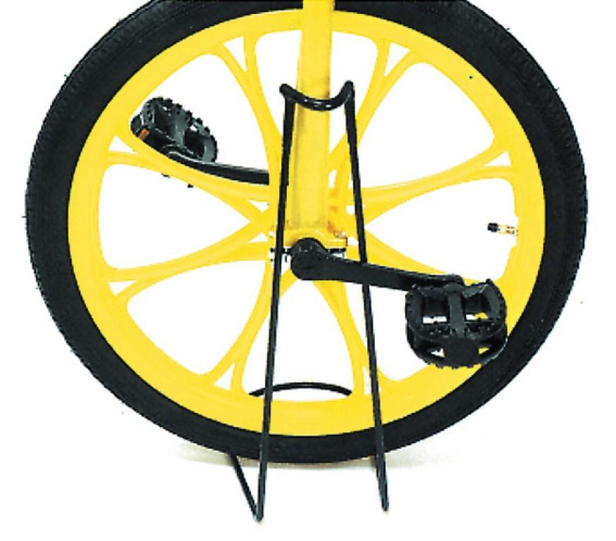 Rastrelliera per monociclo in acciaio, nera
