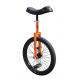 """Monociclo QU-AX Luxus 20"""" arancio, cerchi Alu, pneumatici neri"""